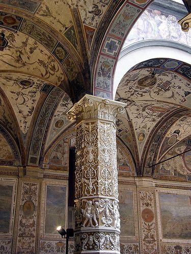 Interior Palazzo Vecchio Florence #TuscanyAgriturismoGiratola
