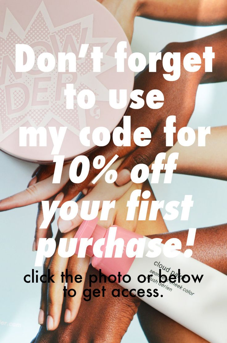 Get 10% off your purchase at glossier.com
