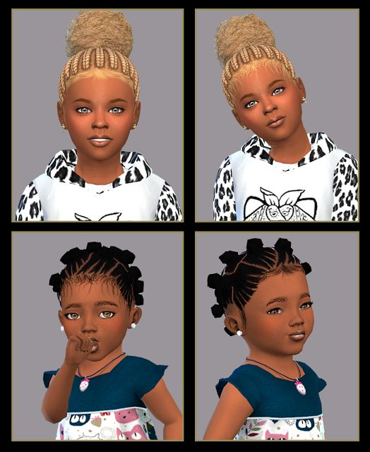 Sims 4 CC's - The Best: Baby hair by blewis50