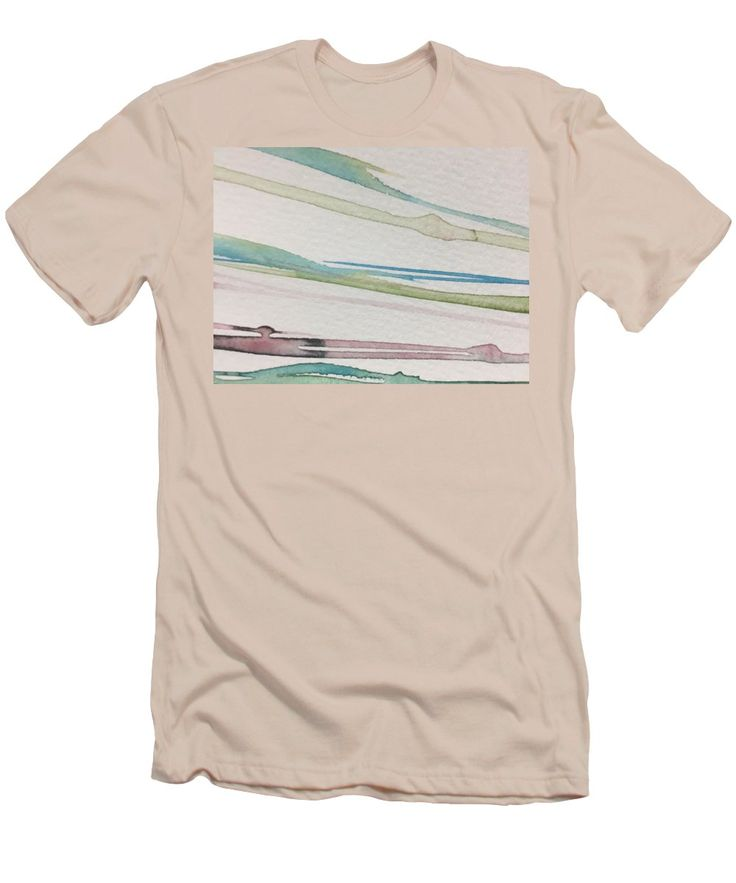 Purchase a t-shirt featuring the image of Lines  by Britta Zehm.  Available in sizes S - XXL.  Each t-shirt is printed on-demand, ships within 1 - 2 business days, and comes with a 30-day money-back guarantee.