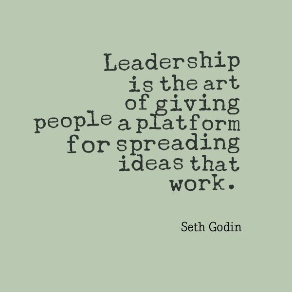 """start my business, what would i need to start my own business, step by step how to start a business - """"Leadership is the art of giving people a platform for spreading ideas that work."""" ~ Seth Godin #business #entrepreneur"""
