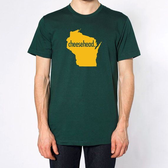 Wisconsin Cheesehead American Apparel Cotton T Shirt
