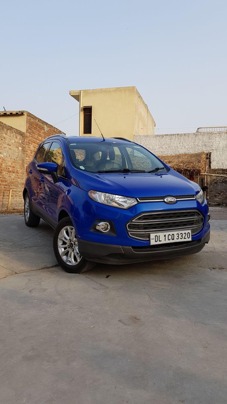 Ford ecosport titanium blue