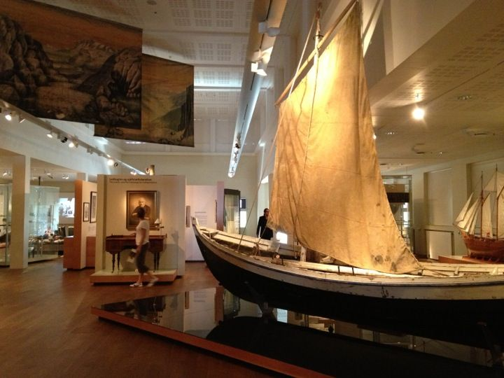 The exhibits here trace Iceland's history from the Settlement Age to the present.