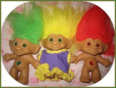 1990s Troll Dolls Troll dolls, originally known