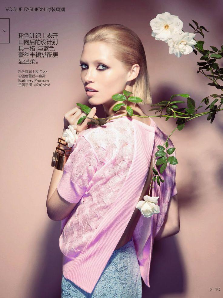 Hana Jirickova HQ Pictures Vogue China Magazine Photoshoot March 2014 Hana Jirickova magazine-photoshoot :