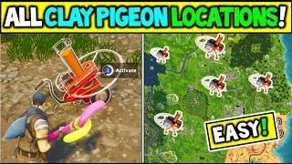 All 6 Clay Pigeon Locations Shoot A Clay Pigeon At Different