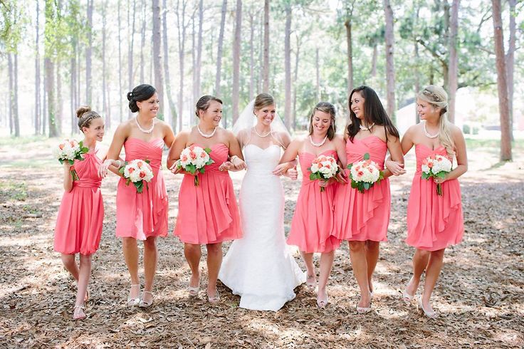 Southern Rustic Wedding Bridesmaids