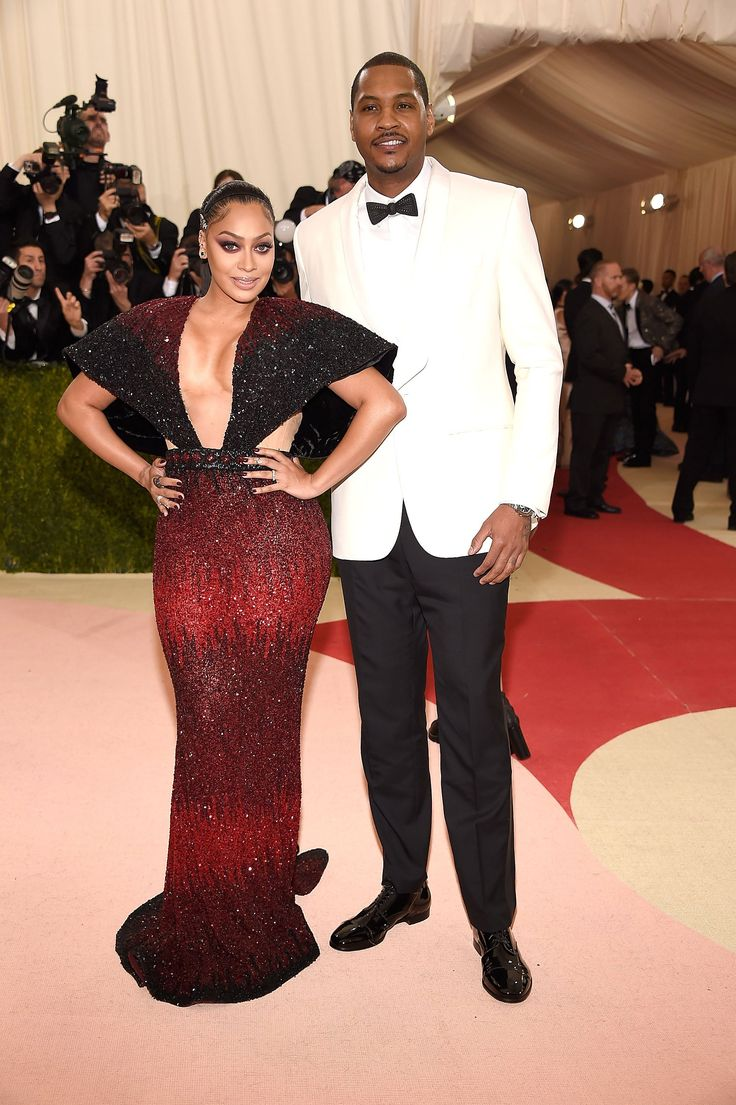 La La Anthony in Nicolas Jerban and Carmelo Anthony in Public School