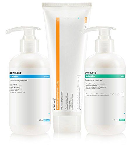 The Acne.org Regimen - Complete Acne Treatment Kit Acne.org