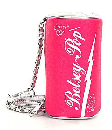 Betsey Johnson Soda CrossBody Bag #Dillards