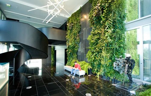 Natura Towers in Lisbon, Portugal by Vertical Garden Design