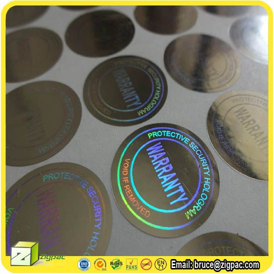 Uv printing offset printing screen printing holographic hot stamp printing pet clear film