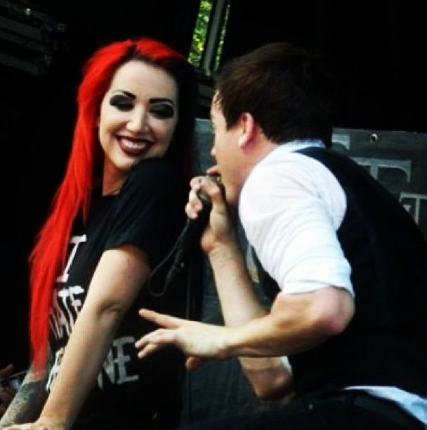 Ash Costello (of New Year's Day) performing Partners In Crime with Cody Carson (and Set It Off).