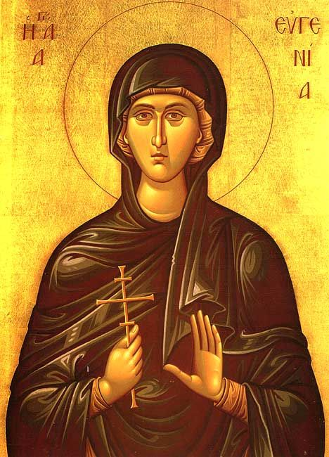 Eugenia the Righteous Nun-Martyr of Rome - December 24