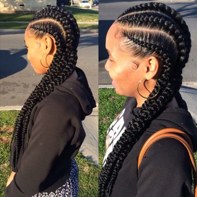 Get a 360 on these Glam Braids!! My clients are always satisfied & happy after a Glam Session with me, but I really be crackin jokes LOL. Book your nextGlam session with me by simply emailing iamGlamFreak@gmail.com Put your hair in the right hands  #GlamFreak #GlamFreakOnHair #GlamFreakHairCo #GlamBraids #LAHairStylist