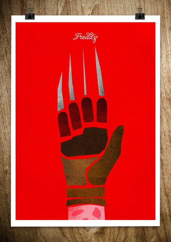 Famous Hand Posters