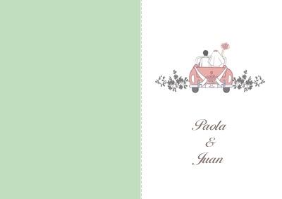 Plantillas de Invitaciones de boda modernas para personalizar en Optimalprint España