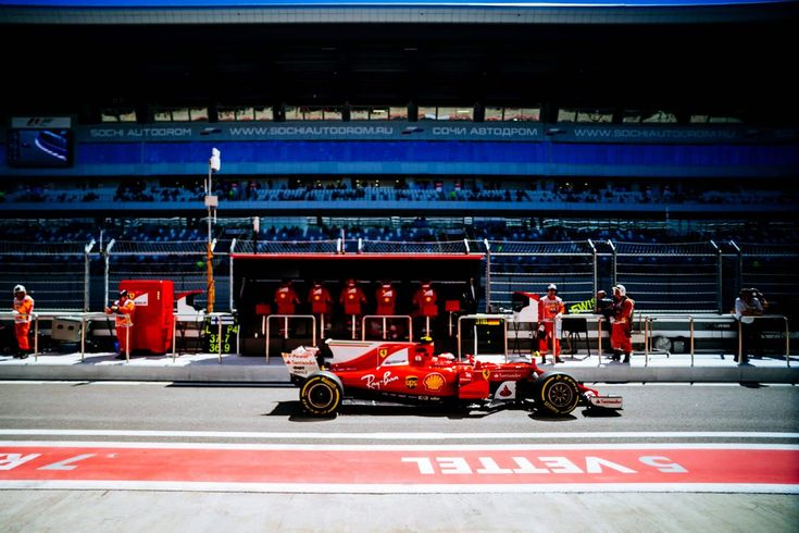 F1 : Vettel et Ferrari en Pole en Russie