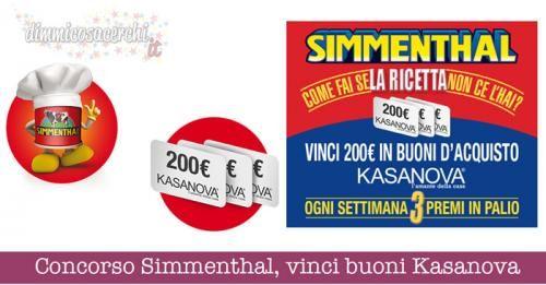 BuoniSconto: #Concorso #Simmenthal #vinci buoni spesa Kasanova da 200 (link: http://ift.tt/2d4vsZw )