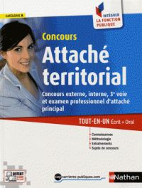 Pascal Tuccinardi et Joëlle Gauthier - Concours Attaché territorial 2015 - Concours externe, interne, 3e voie et examen professionnel d'attaché principal.