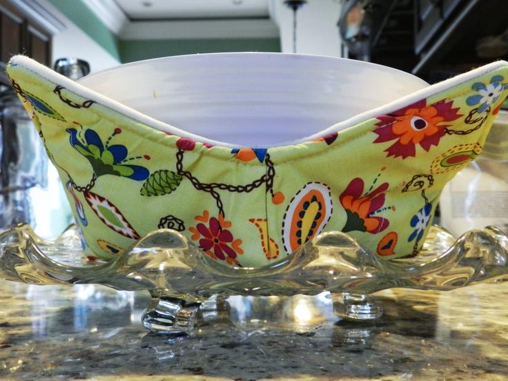 microwave bowl cozy pot holder microwaves bowls and etsy. Black Bedroom Furniture Sets. Home Design Ideas