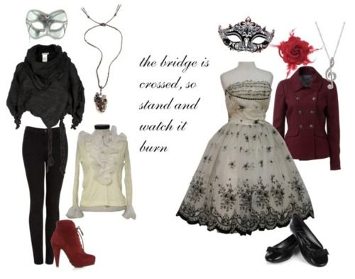 The Phantom of the Opera Inspired Outfits
