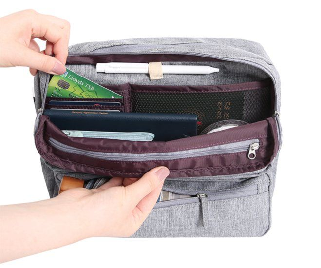 Monopoly Travel Messenger Bag