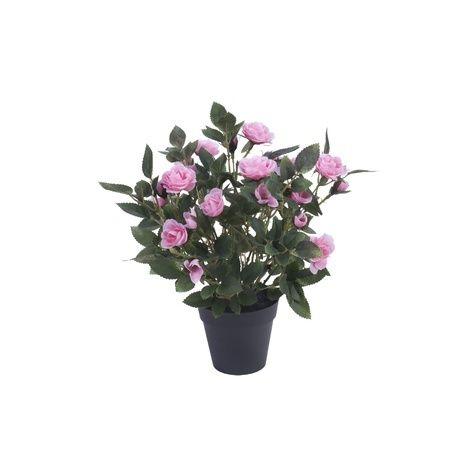 Kunstig rose i potte eller andre falske planter fra plantasjen (siden me bare kan gi opp at eg klare å ta vare på noe som helst levende...)
