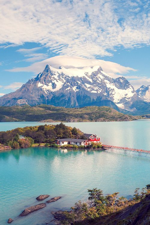 Torres del Paine National Park, #Chile. Such a pretty place