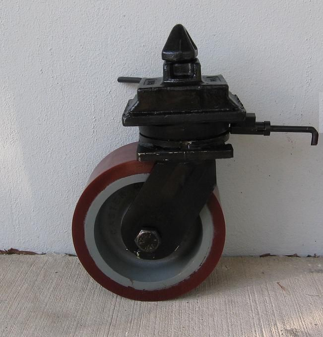 Storage Shipping Container Homes: Container Caster With Polyurethane Wheel