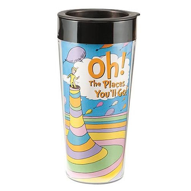 Dr. Seuss Oh The Places You'll Go Coffee Travel Mug