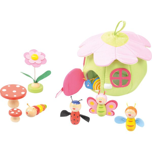 Mini domek do zabawy kwiat #creative #toys #girls #fun #wooden #kids #gifts #flower  http://www.mojebambino.pl/zestawy-do-zabaw-swobodnych/3482-mini-domek-wiosenny.html?search_query=521198&results=1