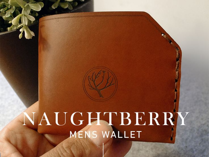 Naughtberry Handmade Leather Wallet - Chestnut