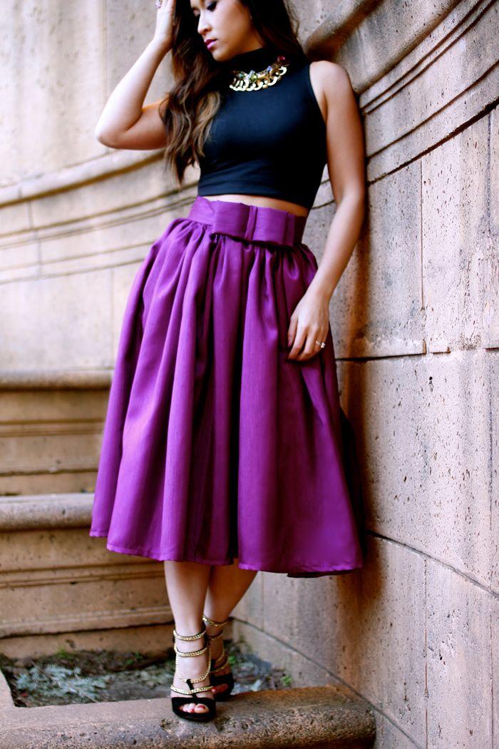 17 Terbaik ide tentang Puffy Skirt di Pinterest | Pakaian remaja ...
