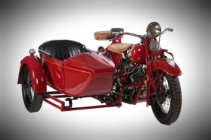 1936 Indian Standard Scout & Sidecar, on display at Classic Motorcycle Mecca in Invercargill, NZ. For more info visit transportworld.nz