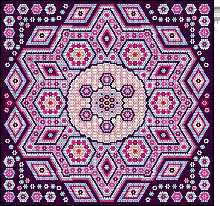 9 best patchwork -la passion images on Pinterest | Sechseck quilten ...