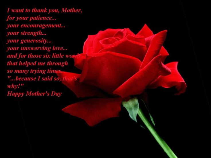 Happy Mothers Day Poems From A Friend