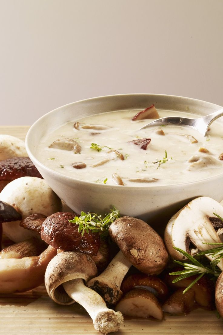 Cream of Wild Mushroom Soup | KitchMe, just switch to gf flour or cornstarch and it's gluten free