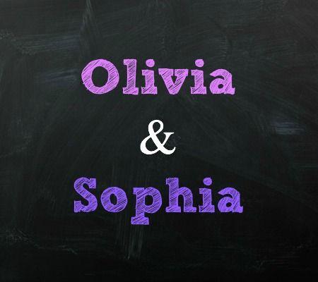 Olivia and Sophia Twin Baby Names | Disney Baby