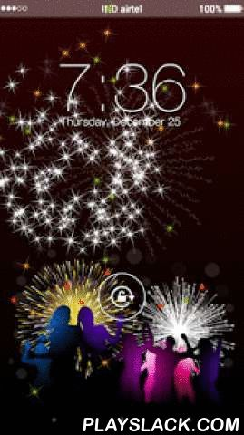 New Year Party Yo Locker  Android App - playslack.com ,  New Year Party Yo Locker, You can use it as My Name Screen Lock. It means you can write your own name over the lock screen