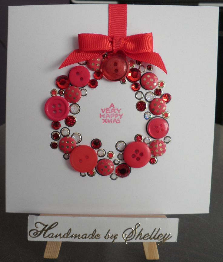 Bubble Wreath stamp by Woodware.