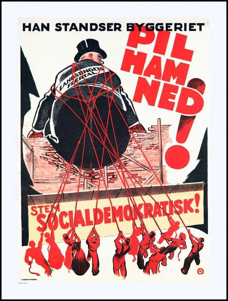Valgplakat, Socialdemokratiet