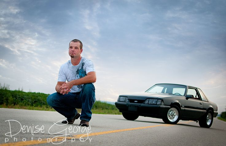 Senior Guy posed with car © Denise George Photography www.denise-george.com Harrison, AR senior photographer #seniorpix #harrisonar