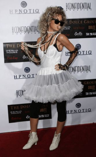 80's Madonna Costume for Halloween.   #Halloween #Costumes #HalloweenCostumesForFamily Sherman Financial Group