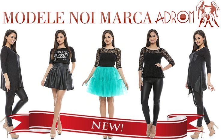 Vă prezentăm noile modele marca ADROM care au sosit azi și care se pot achiziționa de pe www.AdromCollection.ro. Echipa AdromCollection vă dorește un weekend plăcut și Spor la cumpărături! P.S. Happy Valentine's Day!