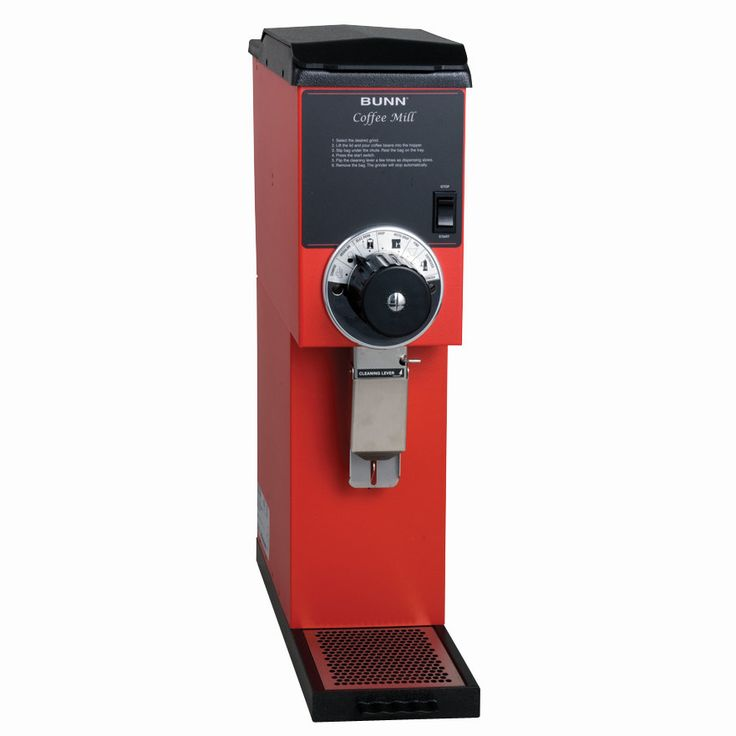 Qualified Bunn Coffee Grinder for Excellent Taste of Coffee : Bunn Red Bulk Coffee Grinder Simple