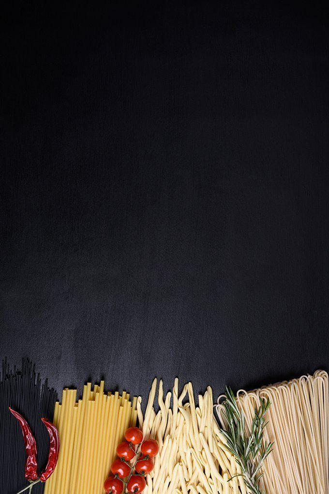 Raw pasta, food frame by Iuliia Leonova on @creativemarket