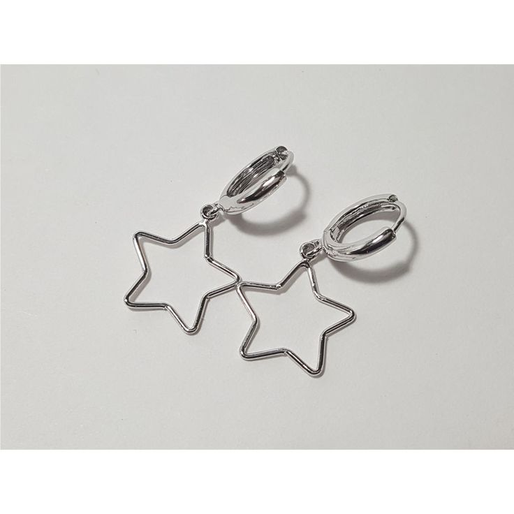 Korean Fashion Jewelry New Twinkling Star Earring for Women Girls Ladies #Rielar #Hoop