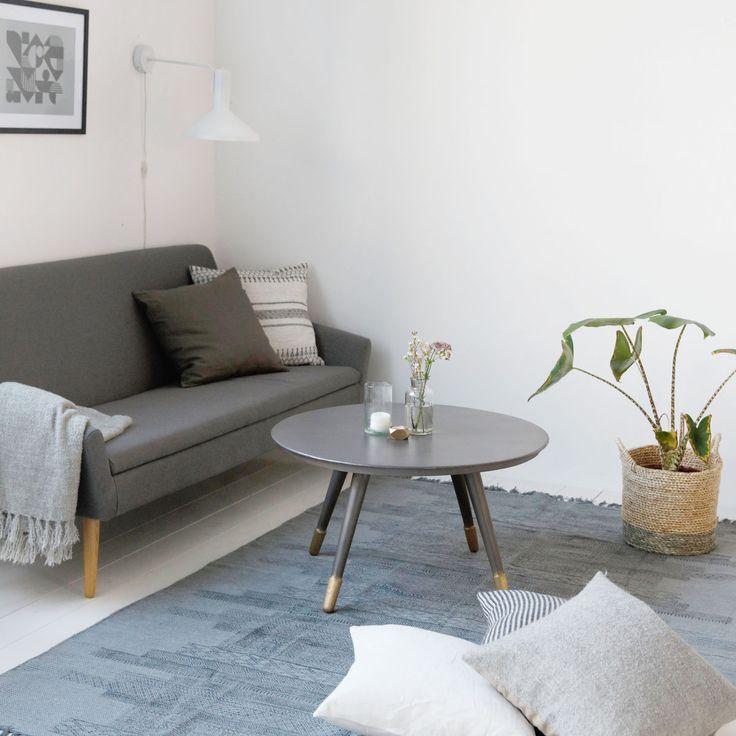 Elegant Hübsch Bedruckter, Grauer Teppich Karma Von House Doctor Im Skandinavischem  Design. Der Teppich In Ist Handgewebt Und Online Bestellbar.